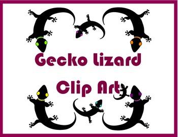 Gecko Lizard Clip Art