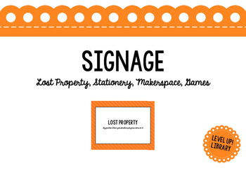General Area Signage