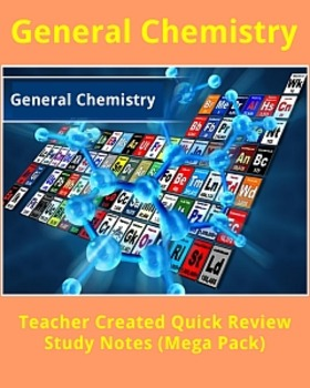 General Chemistry Study Notes (720 Pages)