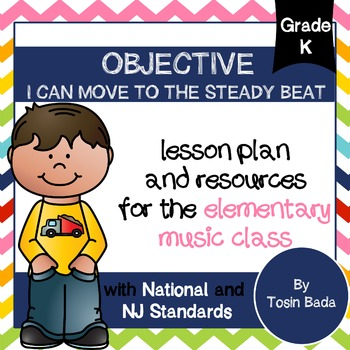General Music Kindergarten Lesson #4: {I Can Move to the S