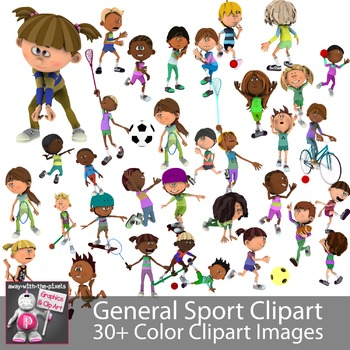 General Sports and Fitness Clip Art Images