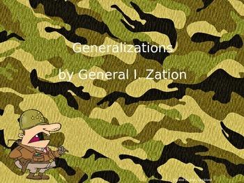 Generalizations Powerpoint