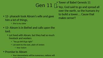 Genesis 11-50