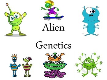 Genetic Alien Coin Toss Activity