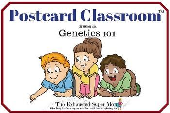 Genetics 101 Task Cards