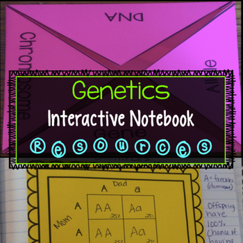 Genetics Interactive Notebook