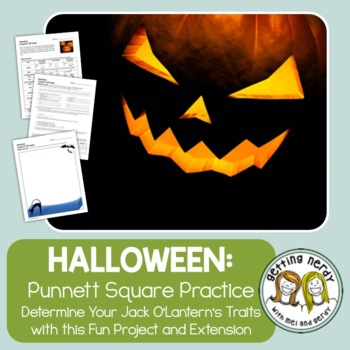 Punnett Squares - Fall Halloween Jack o' All Traits Geneti