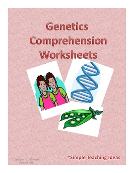 Genetics and Heredity Comprehension Paragraphs
