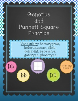 Genetics and Punnett Square Practice