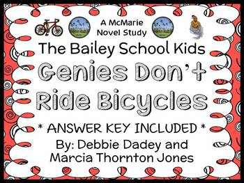 Genies Don't Ride Bicycles (The Bailey School Kids) Novel