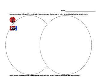Genius Files Compare/Contrast Worksheet