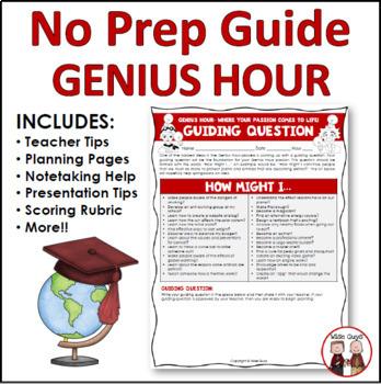 Genius Hour Bundled Resource Packet