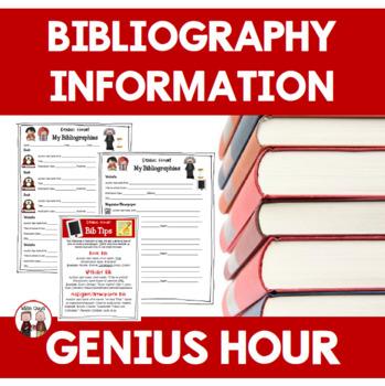 Genius Hour: Bibliography