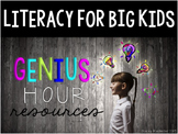 Genius Hour Classroom Materials (Teacher & Student)