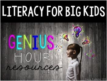 Genius Hour Classroom Materials (Teacher & Student) Editab