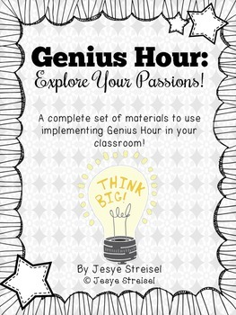 Genius Hour: Explore Your Passions!