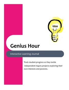 Genius Hour Interactive Journal and Project Record