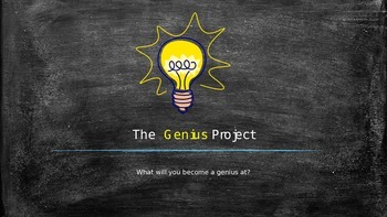 Genius Hour Introduction