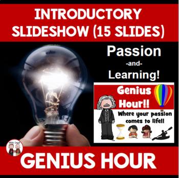 Genius Hour Introduction PowerPoint