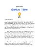 Genius Hour Starter Packet