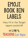 Genre Book Bin Labels with Emojis