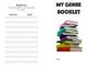 Genre Booklet using book catalogs Activity Literature review