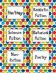 Genre & DRA Library Labels