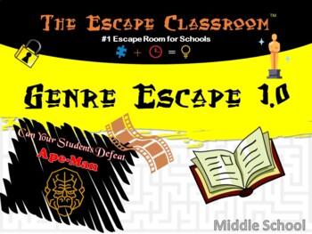 Genre Escape Room (6th - 8th Grade)