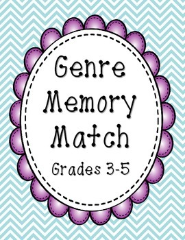 Genre Memory Match Game