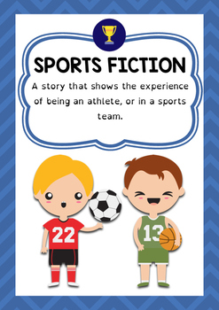 Genre Poster - Sports Fiction