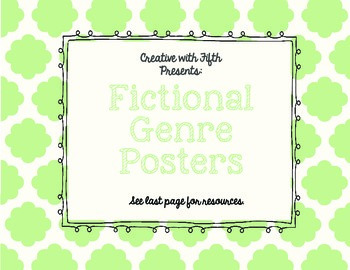 Fictional Genre Posters