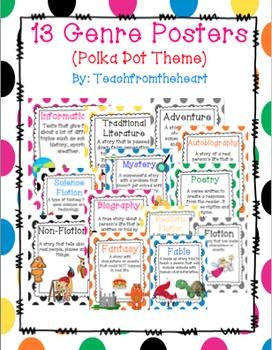 Genre Posters (Polka Dot Theme)
