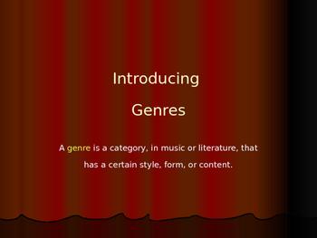 Genre Power Point