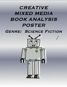 Genre  Science Fiction / Creative Mixed Media Poster Activ