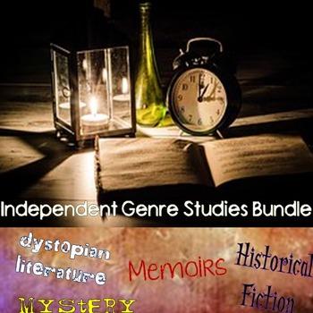 Genre Study Bundle - Dystopias, Memoirs, Mysteries, & Hist