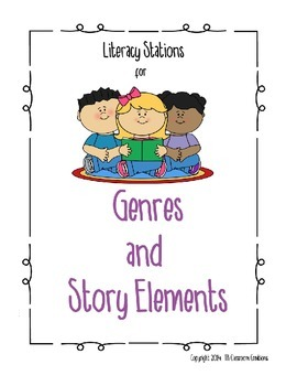 Genres and Story Elements Literacy Station