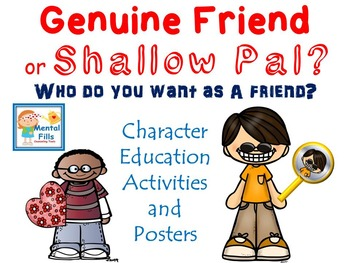 Character Traits in Friendship: Quality Friends vs. Shallow Pals