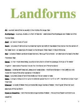 Geo Landforms