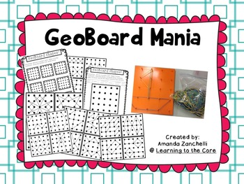 GeoBoard Pictures and Shapes