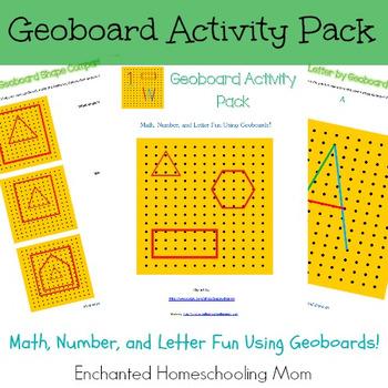 Geoboard Activity Pack