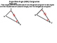 Geoemtry SS 4.5 - Proving Triangles Congruent: ASA, AAS