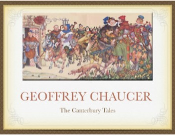 Geoffrey Chaucer and The Canterbury Tales PowerPoint