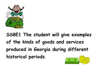 Geogia Studies Economics Standards and Vocabulary