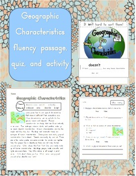 Geographic Characteristics Fluency Passage and Contraction