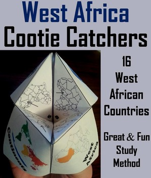 Geography (k-12) West Africa Map Skills Activity  (Scoot U