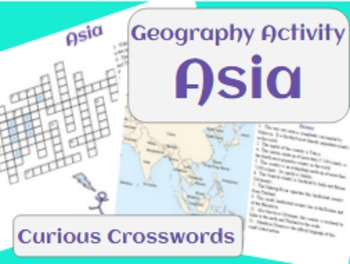 Geography Activity- Asia