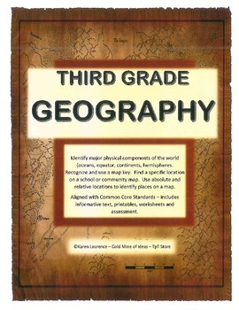 Geography - Aligned with Common Core Standards - Recognize