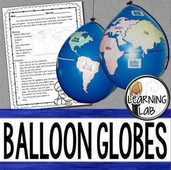 Geography - Balloon Globes