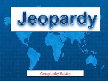 Geography Basics Jeopardy