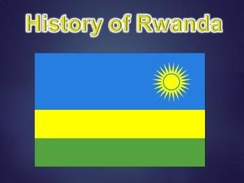 History of Rwanda PowerPoint Presentation (World History /